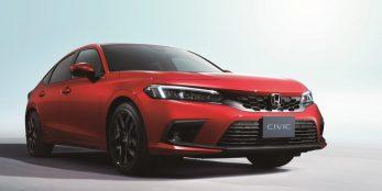 thumbnail Honda unveils next-generation Civic five-door