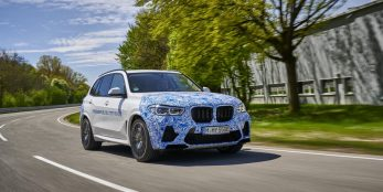 thumbnail Everyday testing of BMW i Hydrogen NEXT with hydrogen fuel cell drive train begins
