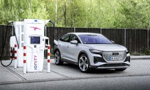 thumbnail Audi CEO Duesmann at Berlin climate conference: accelerated transition to e-mobility