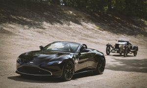 thumbnail Q by Aston Martin Vantage Roadster celebrates 100 years of 'A3' – the oldest surviving Aston Martin sports car