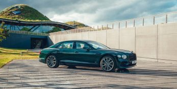 thumbnail The world's best luxury sedan made greener: Introducing the new Flying Spur Hybrid