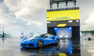 thumbnail Lotus Emira: all-new sports car 'unboxed' in live world premiere from re-born Hethel HQ