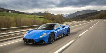 thumbnail Maserati MC20 to make UK dynamic debut at Goodwood Festival of Speed