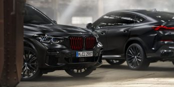 thumbnail New BMW X5 and BMW X6 Black Vermilion limited edition and BMW X7 edition in Frozen Black metallic