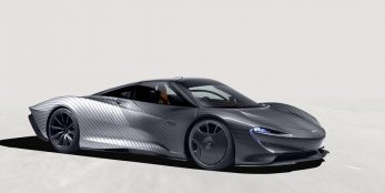 thumbnail McLaren Special Operations pays homage to the first Speedtail attribute prototype, 'Albert'