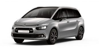 thumbnail Citroën UK reveals updated Grand C4 SpaceTourer range