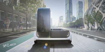 thumbnail EAV reveal electric mid-mile urban van