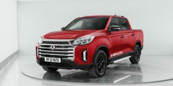 thumbnail SsangYong showcases vehicle range at the British Motor Show 2021