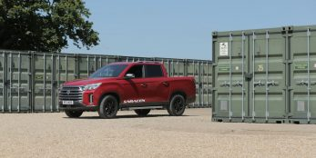 thumbnail SsangYong showcases rugged reliability at The Commercial Vehicle Show 2021