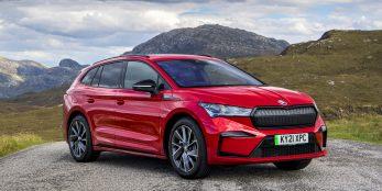 thumbnail X marks the spot: ŠKODA adds all-wheel-drive 80x SportLine model to Enyaq iV range