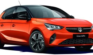 thumbnail Vauxhall adds Griffin versions to new Corsa-e and Crossland