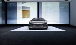 thumbnail Audi grandsphere concept: First class toward the future