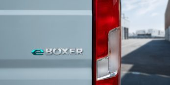thumbnail PEUGEOT launches e-Boxer van in the UK